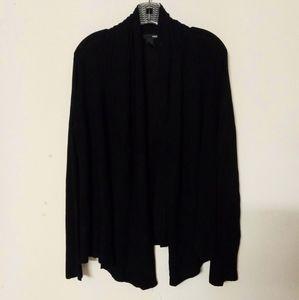 H&M ribbed shrug sweater jacket cardigan Sz L
